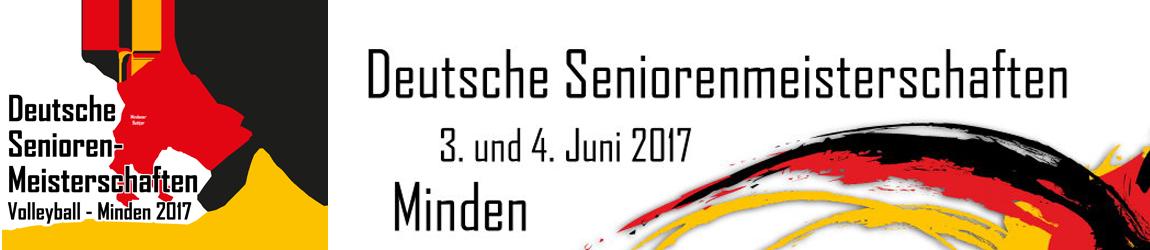 Deutsche Seniorenmeisterschaften Volleyball 2017 - Minden